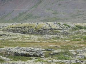 Lava flow beyond Gilsbakki